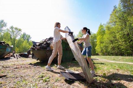 """«Спасибо """"Чистому городу"""" за понимание и вывоз мусора..»"""