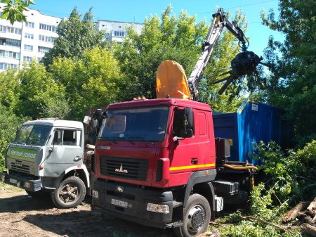 Мероприятия по ликвидации стихийных свалок проводятся на всей территории РМЭ