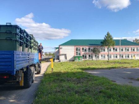 Более 100 евроконтейнеров отправилось в Мари-Турекский район